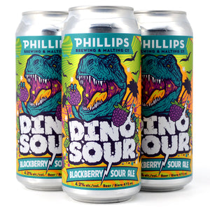 PHILLIPS DINOSOUR BLACKBERRY SOUR 4C