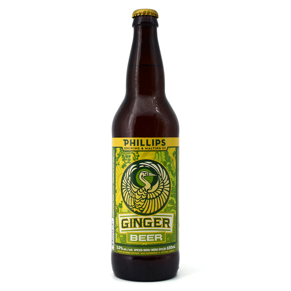 PHILLIPS GINGER BEER 650ML