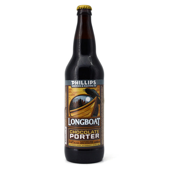 PHILLIPS LONGBOAT CHOCOLATE PORTER 650ML