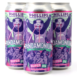 PHILLIPS PANDAMONIUM SUPER IPA 4C