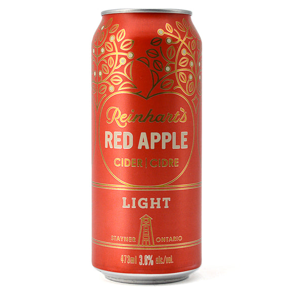 REINHART'S RED APPLE CIDER LIGHT 473ML