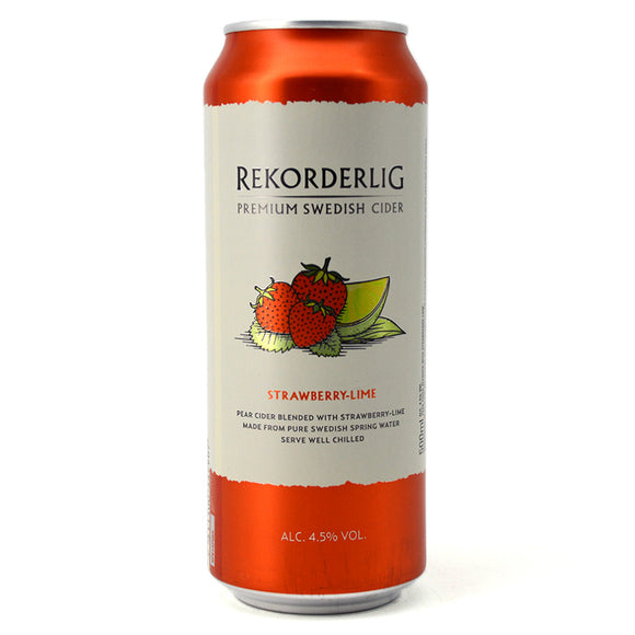 REKORDERLIG STRAWBERRY LIME 500ML