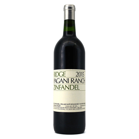 RIDGE PAGANI RANCH ZINFANDEL
