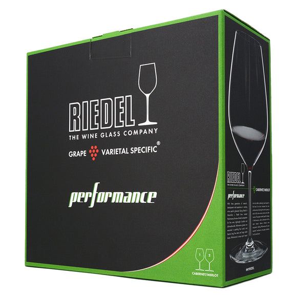 RIEDEL PERFORMANCE CABERNET/MERLOT GLASSES SET OF 2