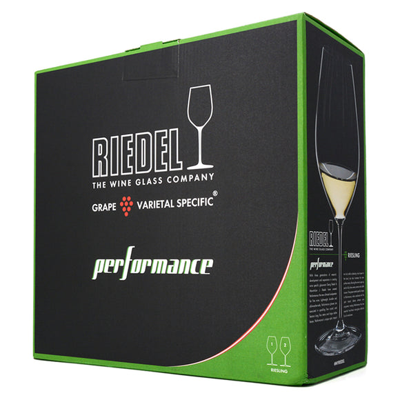 RIEDEL PERFORMANCE RIESLING GLASSES SET OF 2