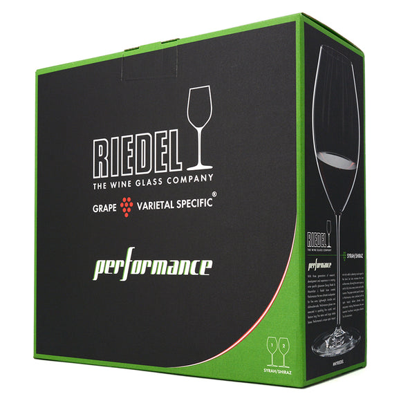 RIEDEL PERFORMANCE SYRAH/SHIRAZ GLASSES SET OF 2