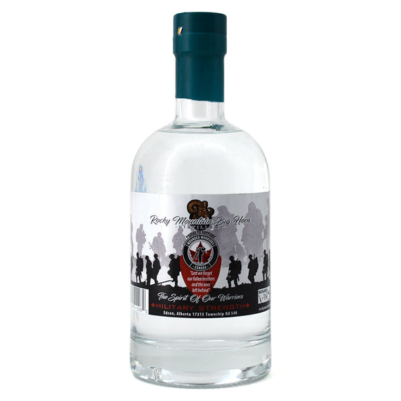 ROCKY MOUNTAIN BIG HORN WOUNDED WARRIOR VODKA 750ML