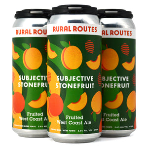 RURAL ROUTES SUBJECTIVE STONEFRUIT FRUITED WEST COAST ALE 4C