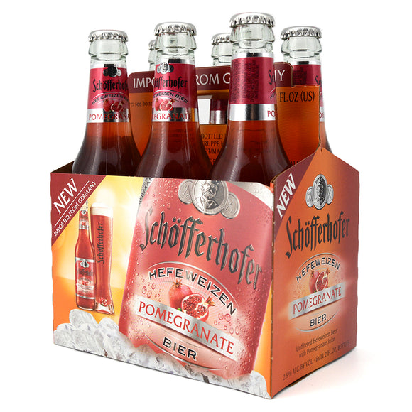 SCHOFFERHOFER POMEGRANATE RADLER 6B