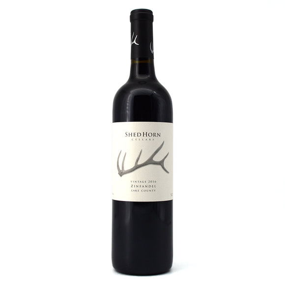 SHED HORN LAKE COUNTY ZINFANDEL