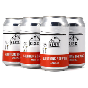 SOLUTIONS K.I.S.S. AMBER ALE 6C