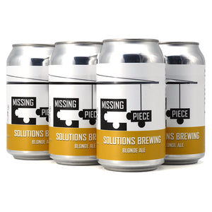SOLUTIONS MISSING PIECE BLONDE ALE 6C