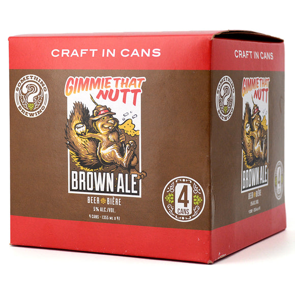 SOMETHING GIMMIE THAT NUTT BROWN ALE 4C