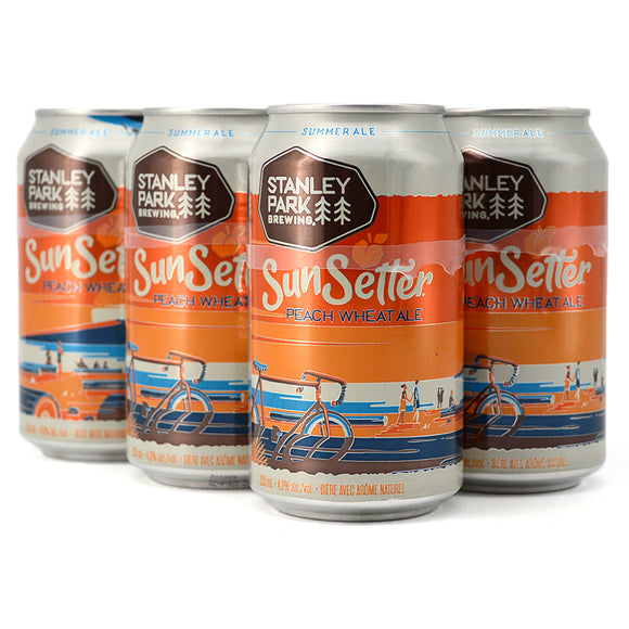 STANLEY PARK SUNSETTER PEACH WHEAT ALE 6C