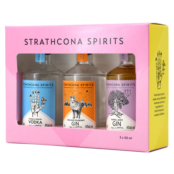 STRATHCONA SPIRITS MINI TRIO PACK 3 x 50ML
