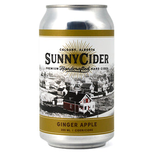 SUNNYCIDER GINGER APPLE 355 mL