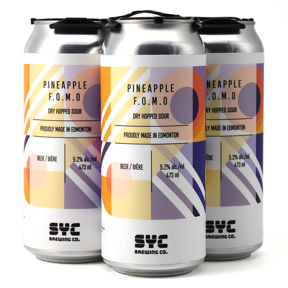 SYC PINEAPPLE FOMO DRY HOPPED SOUR 4C