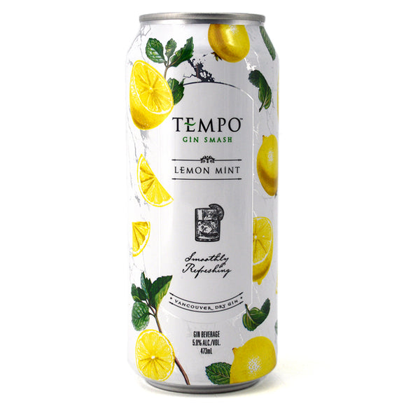 TEMPO GIN SMASH LEMON MINT 473ML