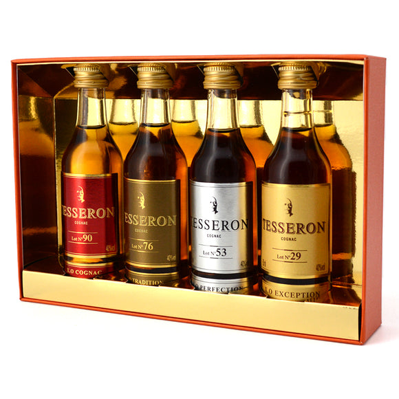 TESSERON COGNAC MINI COLLECTION 4 x 50 mL