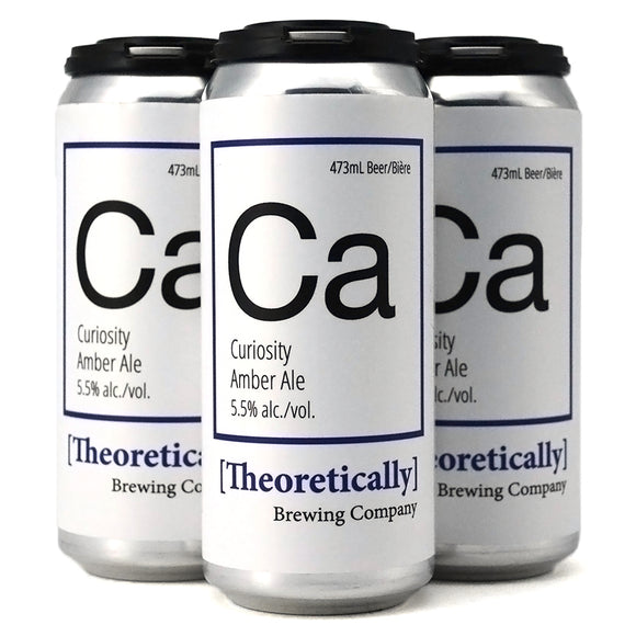 THEORETICALLY CURIOSITY AMBER ALE 4C