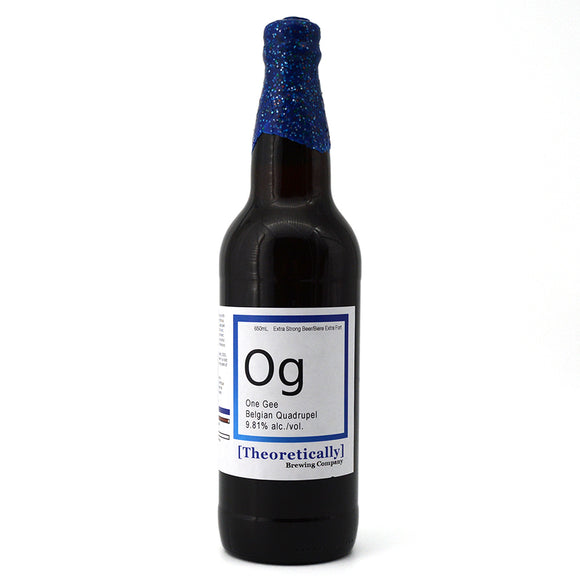 THEORETICALLY ONE G BELGIAN QUAD 650 mL