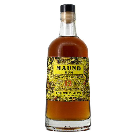 THE WILD ALPS MAUND RUM AGED 12 YEARS 500ML