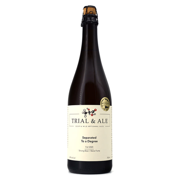 TRIAL & ALE SEPARATED TO A DEGREE FALL 2020 WILD ALE 750ML