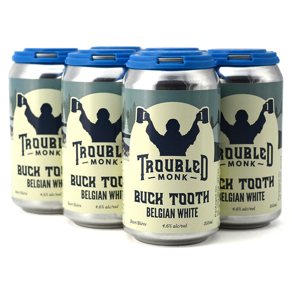 TROUBLED MONK BUCK TOOTH BELGIAN WHITE 6C