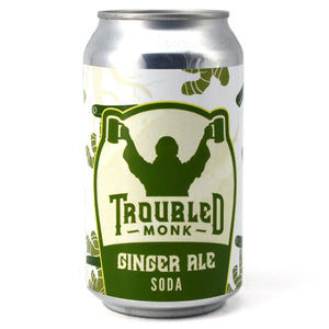 TROUBLED MONK GINGER ALE 355ML