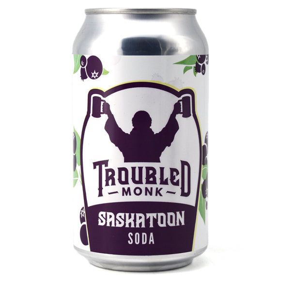 TROUBLED MONK SASKATOON SODA 355ML