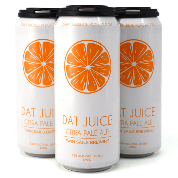 TWIN SAILS DAT JUICE CITRA PALE ALE 4C