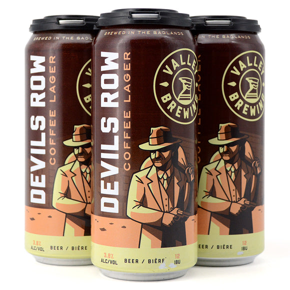 VALLEY DEVIL'S ROW COFFEE LAGER 4C