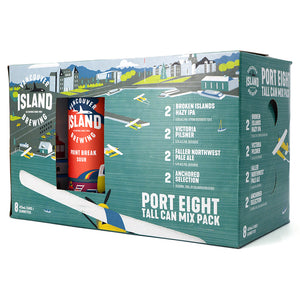 VANCOUVER ISLAND BREWING PORT EIGHT MIX PACK 8C