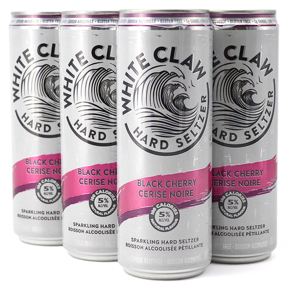 WHITE CLAW BLACK CHERRY 6 PACK