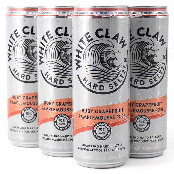 WHITE CLAW RUBY GRAPEFRUIT 6 PACK
