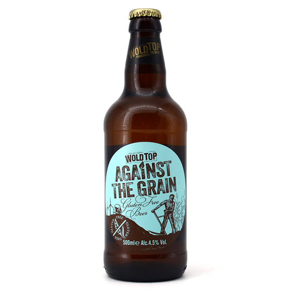 WOLD TOP AGAINST THE GRAIN GLUTEN FREE BEER 500ML