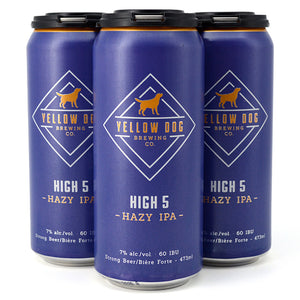YELLOW DOG HIGH 5 HAZY IPA 4C