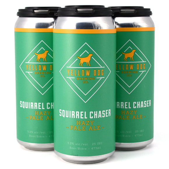 YELLOW DOG SQUIRREL CHASER HAZY PALE ALE 4C