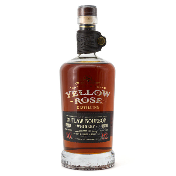 YELLOW ROSE OUTLAW BOURBON WHISKEY 750ML