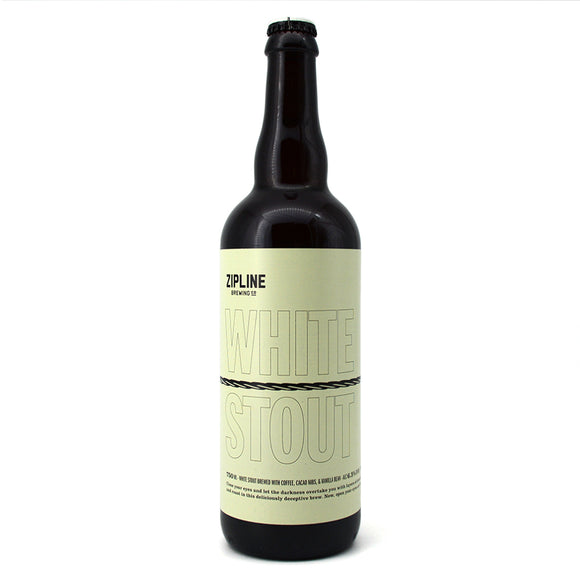 ZIPLINE WHITE STOUT 750 mL