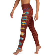 Load image into Gallery viewer, Ultimate CUSTOM superhero yoga leggings! (we'll print your name on the waistband)