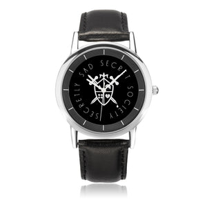 Black and Silver Watch - Secretly Sad Secret Society