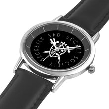 Load image into Gallery viewer, Black and Silver Watch - Secretly Sad Secret Society