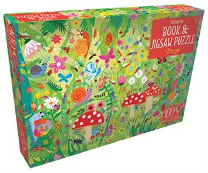 Bugs Book Jigsaw Puzzle