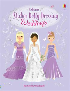 Weddings Sticker Dolly