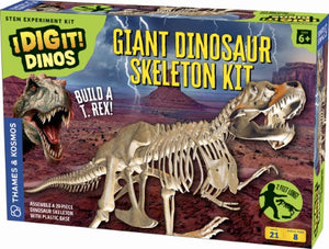 Boy's Thames & Kosmos I Dig It! 21-Piece Giant T-Rex Skeleton Kit
