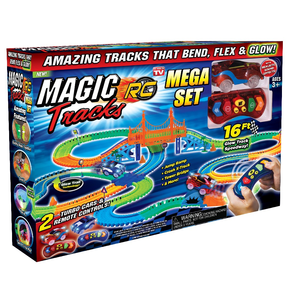 As Seen on TV Magic Tracks Remote Control RC Mega Set