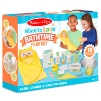 Melissa & Doug Mine to Love Changing & Bathtime Play Set