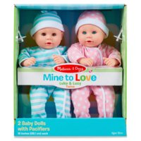 Melissa & Doug Mine to Love Luke and Lucy Doll
