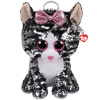 Kiki TY Fashion Flip Sequin Cat Backpack